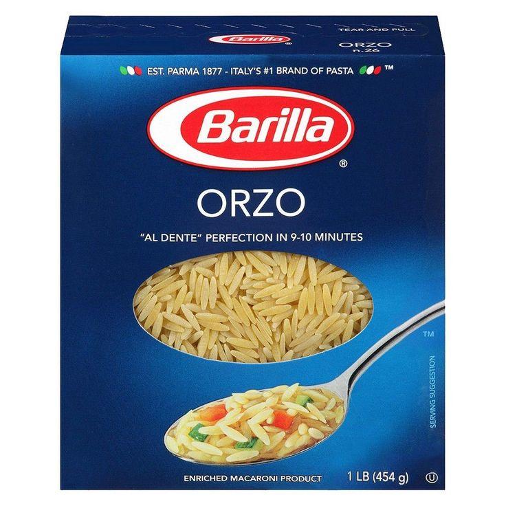 Barilla Orzo Pasta 16 oz, Pasta