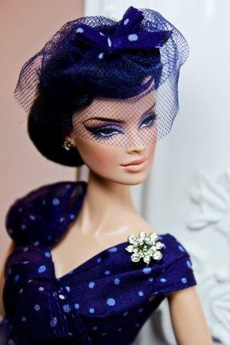 Beautiful vintage fashion doll
