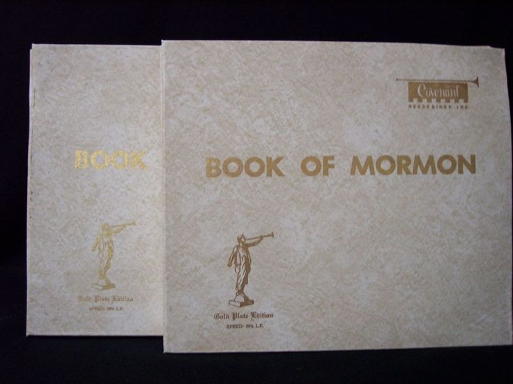 Book Of Mormon 35 Record Set Gold Plate Edition Vinyl By