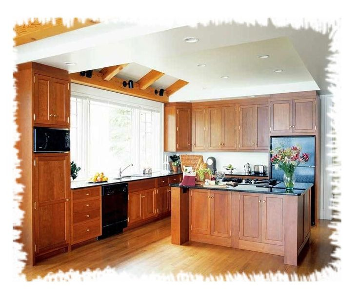 mission style kitchen designs | shaker_kitchen3