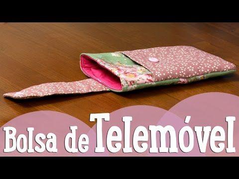 Bolsa de Telemóvel - CosturaComigo - YouTube
