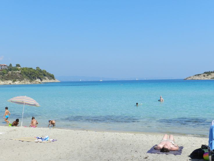 Greece, Sithonia, Lagonissi beach