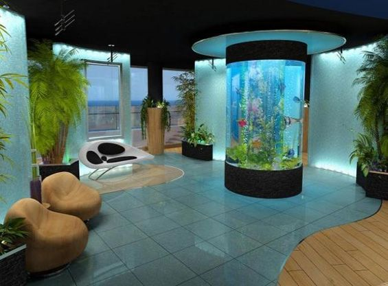 The most expensive villa in cyprus villas pinterest for Fish tank house