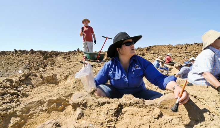 NORTH OF ALICE SPRINGS:  Dig for Dinosaur Bones at Age Of Dinosaurs Museum