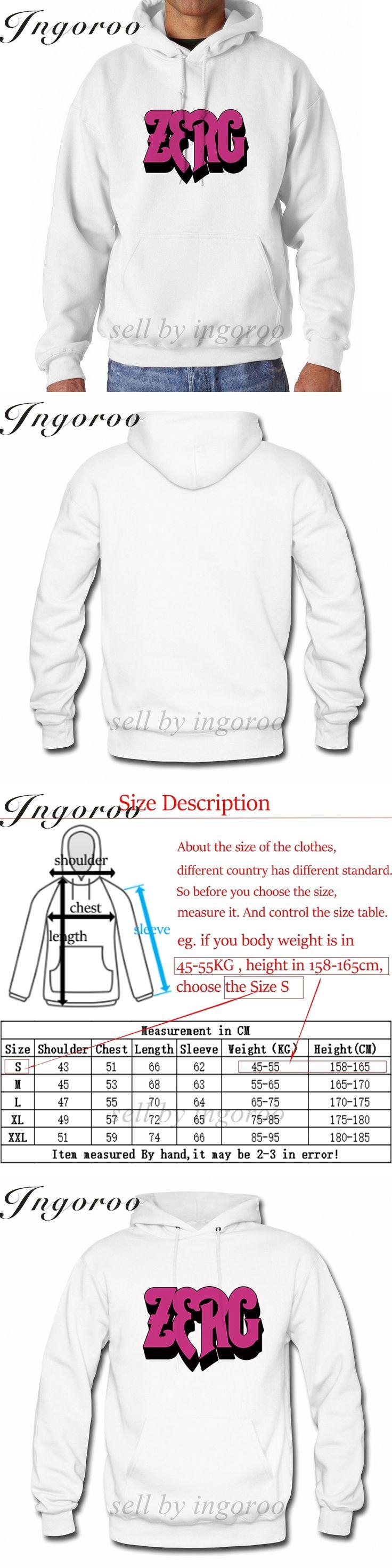 Babaseal Zerg Rush Shirt Plus Size Korean Fashion Oversized Hoodie Bts Kpop Crewneck Sweatshirts Mens Oversized Sweatshirts