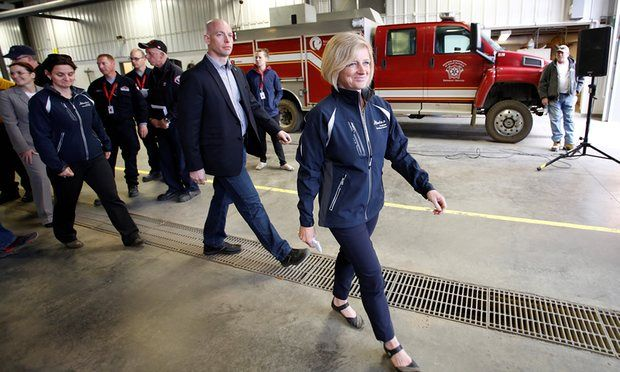 #20160509 #CANADA #Wildfire #McMurray, #Alberta  Photo: Alberta premier Rachel Notley in Fort McMurray. Canada wildfire: 85% of Fort McMurray has been saved http://www.theguardian.com/world/2016/may/10/canada-wildfire-fort-mcmurray-saved-alberta-premier