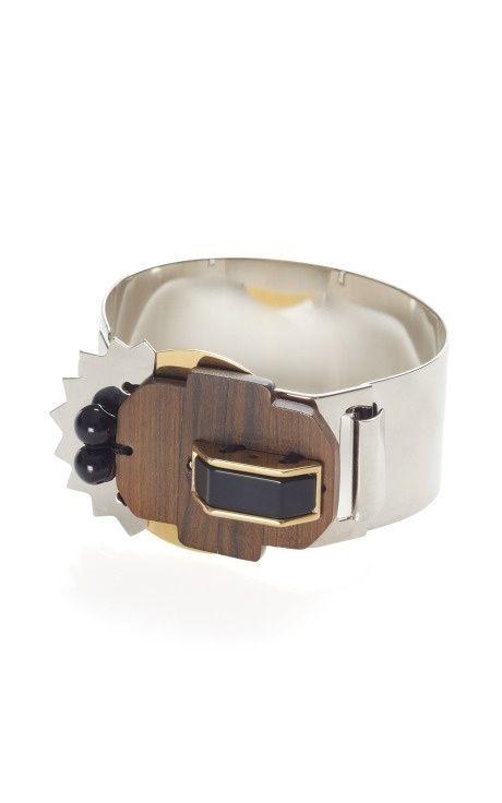 Abstract Metallic Bracelet