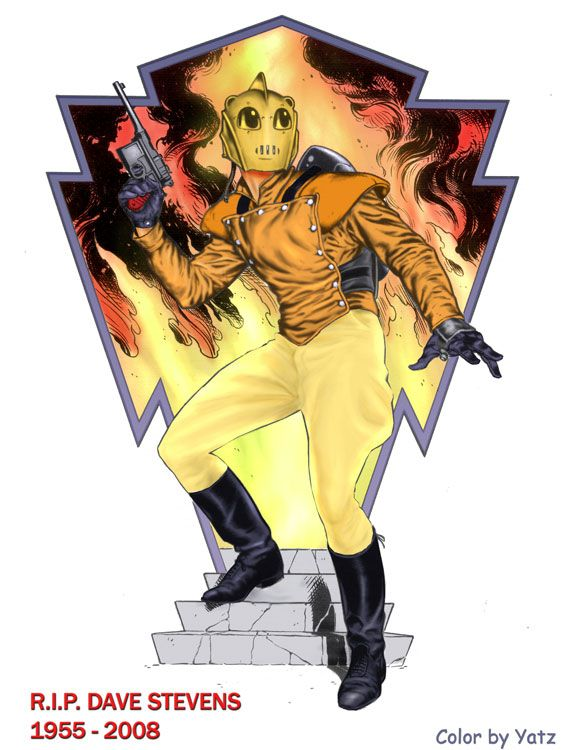1000+ images about Comic Art: The Rocketeer on Pinterest ...