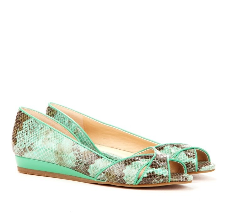 SO cute!!!!Shoes, Snakes Skin, Mint Green, Toes Flats, Nadine Peep, Solesociety, Flats Collection, Peep Toes, Sole Society