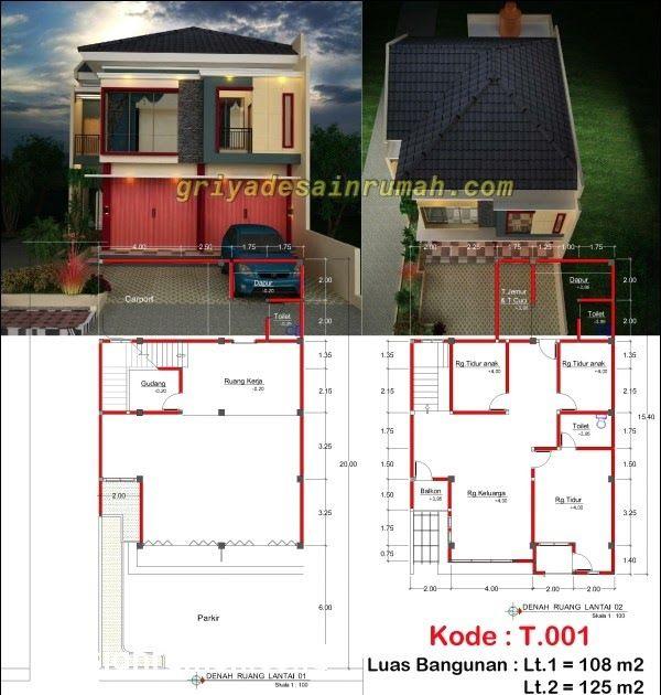 126 Contoh Desain Ruko Sederhana 2 Lantai Paling Keren Desain Rumah Ruko 2 Lantai Minimalis Denah Rumah Ruko 2 Lantai 7x10 Lantai Denah Rumah Desain Rumah