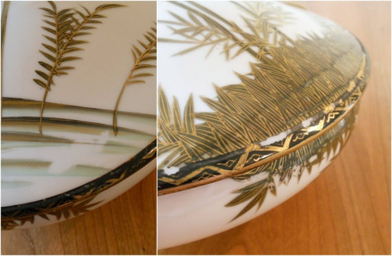 Vintage Asian Tureen or Casserole Dish by bergenhouse on Etsy, $36.00