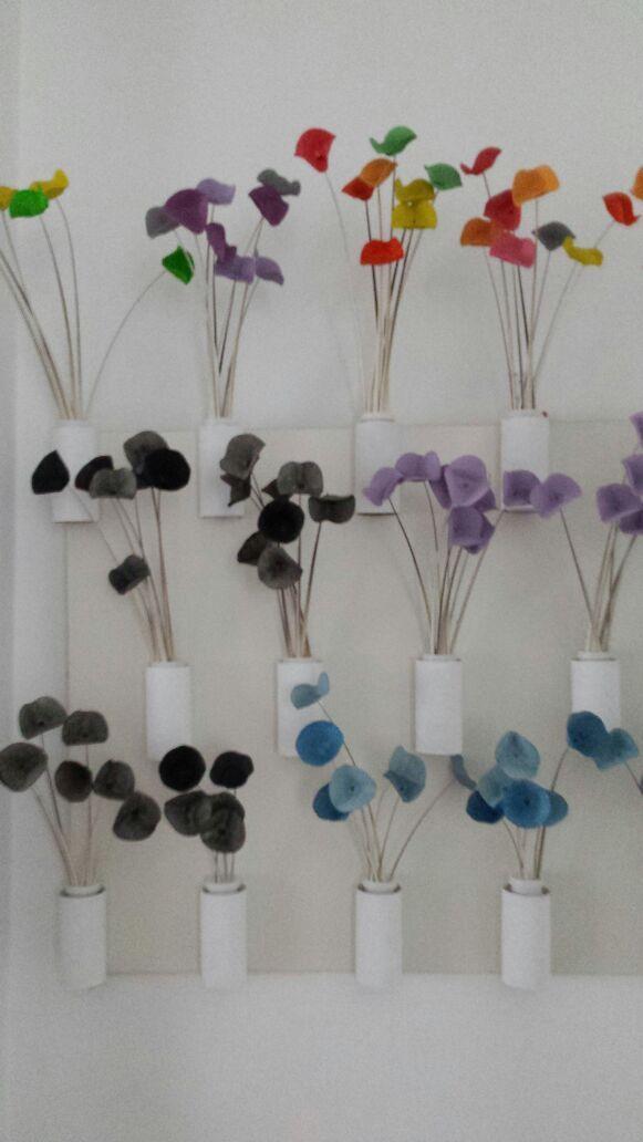 cani herrón. mural de flores