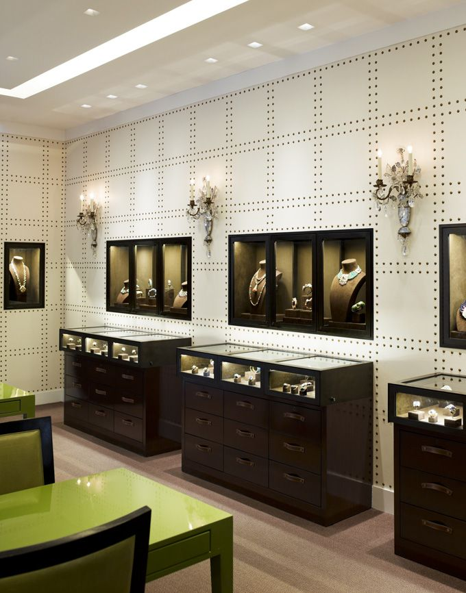 Jewelry Store. See More. Designed by architect Peter Pennoyer with interior  design by Katie Ridder, the boutique seems more