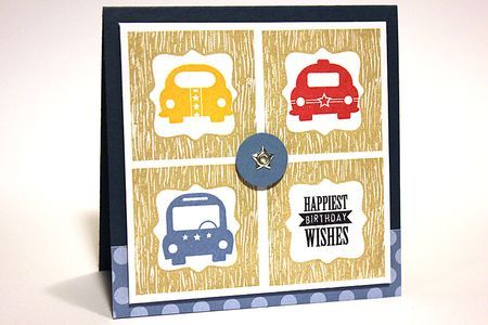Heather Nichols; Framed Out #6 and Little Hot Rod. Love how she put the cars in the frames - very cute.: Transportation Birthday, Children Cards, Cards Ideas, Happy Cars, Birthdays, Birthday Cards, Cartes Kaarten Cards, Cards Inspiration, Cars Birthday