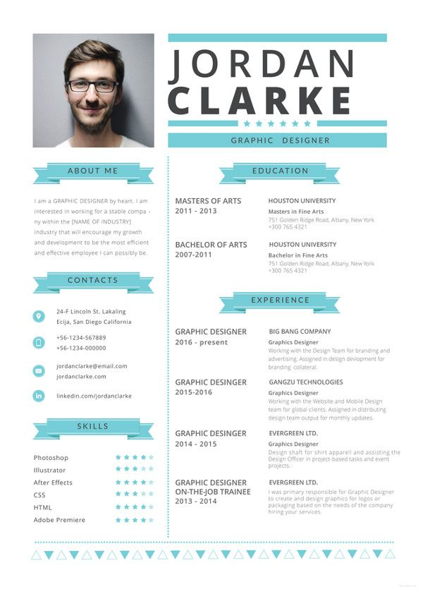 8 best CV images on Pinterest