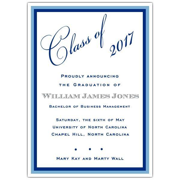36 Best images about graduation announcements on Pinterest - graduation invitation template