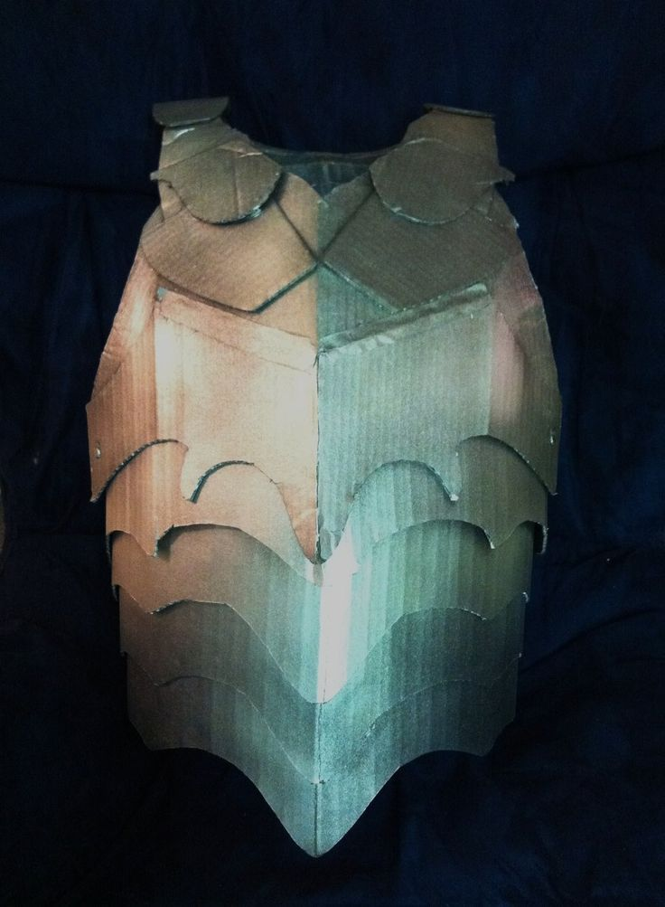 how to make narnia lantern out of cardboard