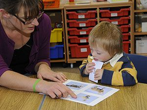 See and Learn is a range of teaching programs designed to help young children with Down syndrome