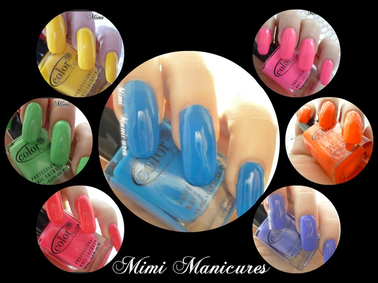 the beautiful color club popstastic collection http://mimimanicures.blogspot.co.uk/2013/03/color-club-poptastic-collection.html