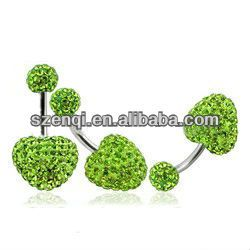 Fake belly button rings body piercing jewelry