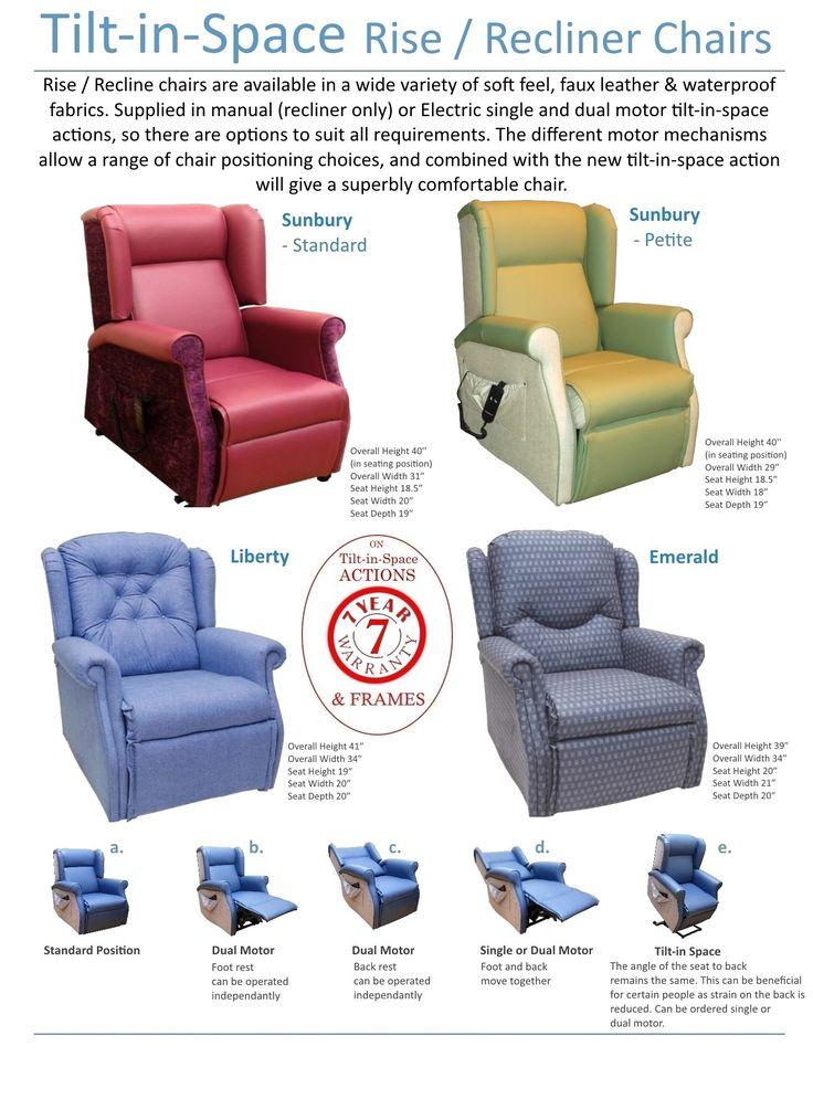 Tilt And Space Recliner Scf Healthcare Furniture Ltd Day