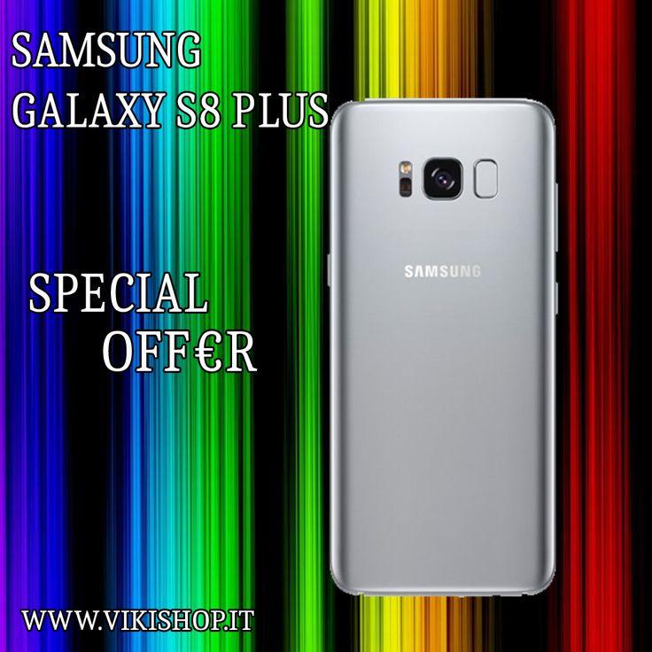 Samsung Galaxy S8 Plus Silver Italia 64gb in Offerta!! Acquista Ora: https://lnkd.in/f7YUy9N  #samsungs8plus #samsungs8plusitalia #samsungs8plusnero #galaxys8plusnero #galaxys8plus