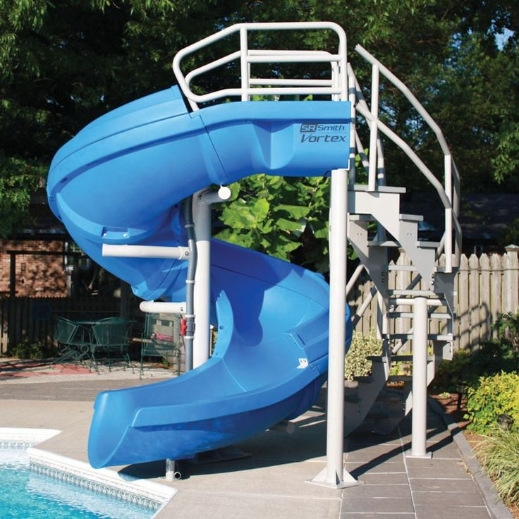 1000 ideas about pool slides on pinterest swimming - Swimming pools in liverpool with slides ...