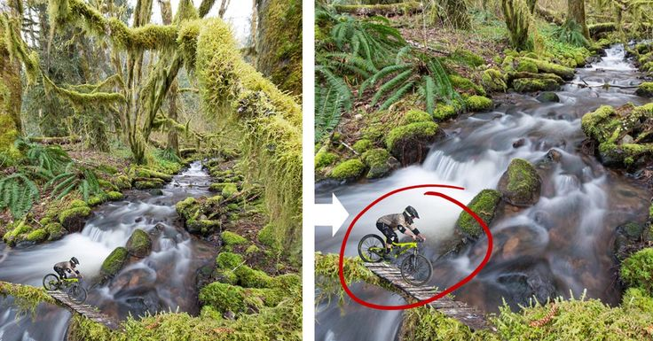 Behind the Shot: Tiny Tree Biker (Photoshop Composite Project) -