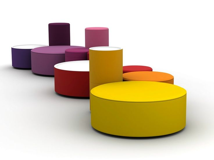 Sitzpuff / Couchtisch ROUNDABOUT by LINA design d.o.o.