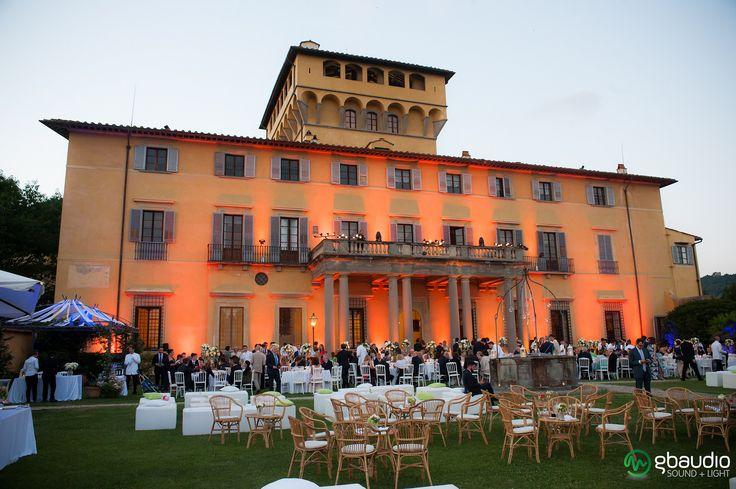 Lighting at Villa di Maiano