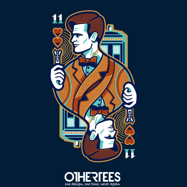 11th of Hearts by WinterArtwork Shirt on sale until 01 May on http://othertees.com #doctorwho