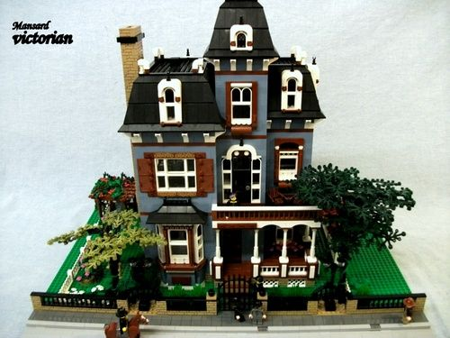 17 best images about lego houses on pinterest lego for Custom victorian homes