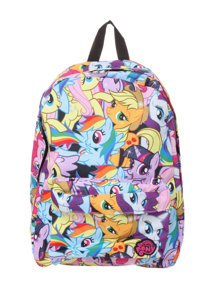 My Little Pony Mane Six Backpack | Hot Topic