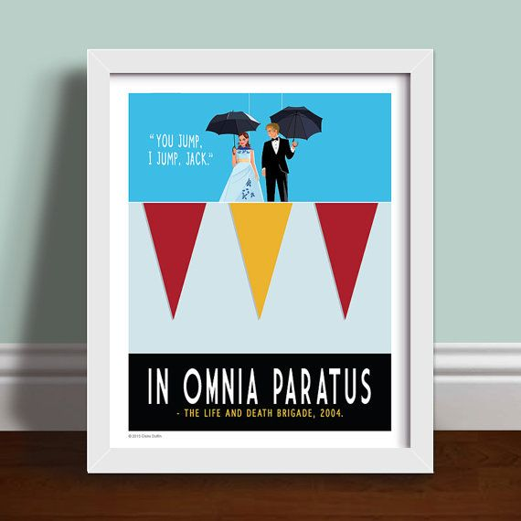 Works of art that combine the past and present. (Pictured: $22+ OperationPumpkin In Omnia Paratus Poster)