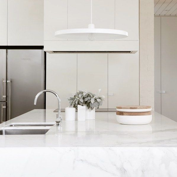 THE KITCHEN HUB More lovely chrome inspo! Such an elegant kitchen gooseneck by Astra Walker and looking fabulous…