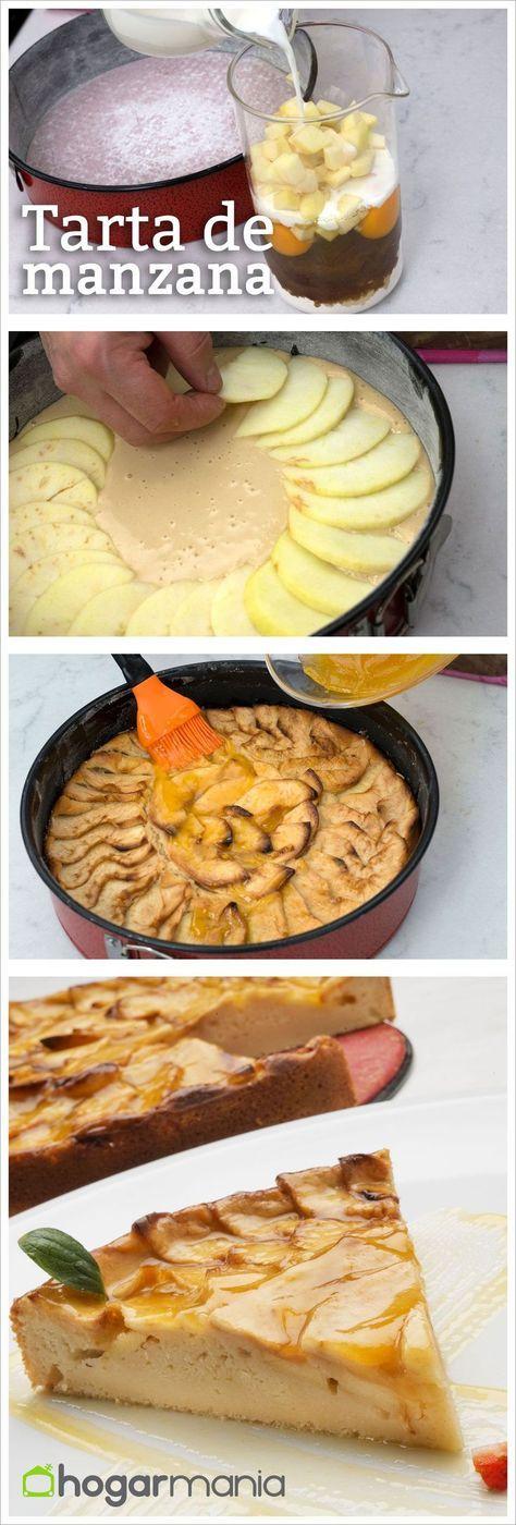 Tarta de manzana fácil elaborada por Eva Arguiñano // Apple cake
