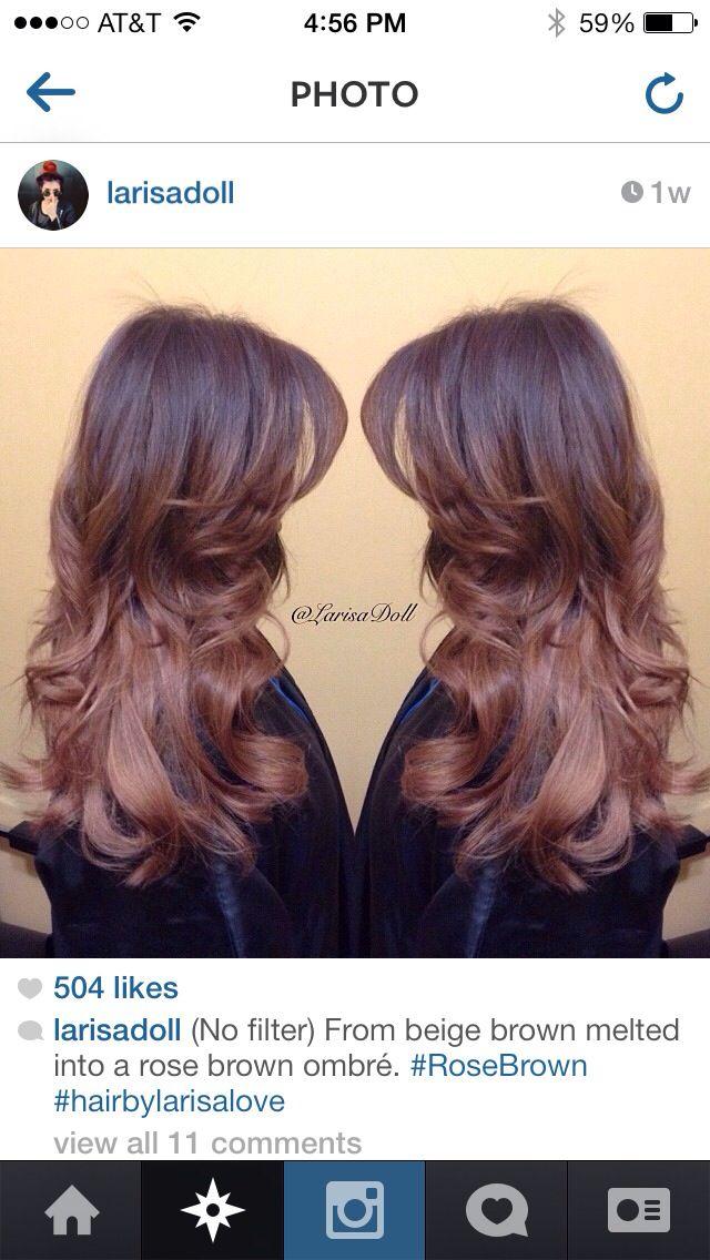Rose brown hair by lar...