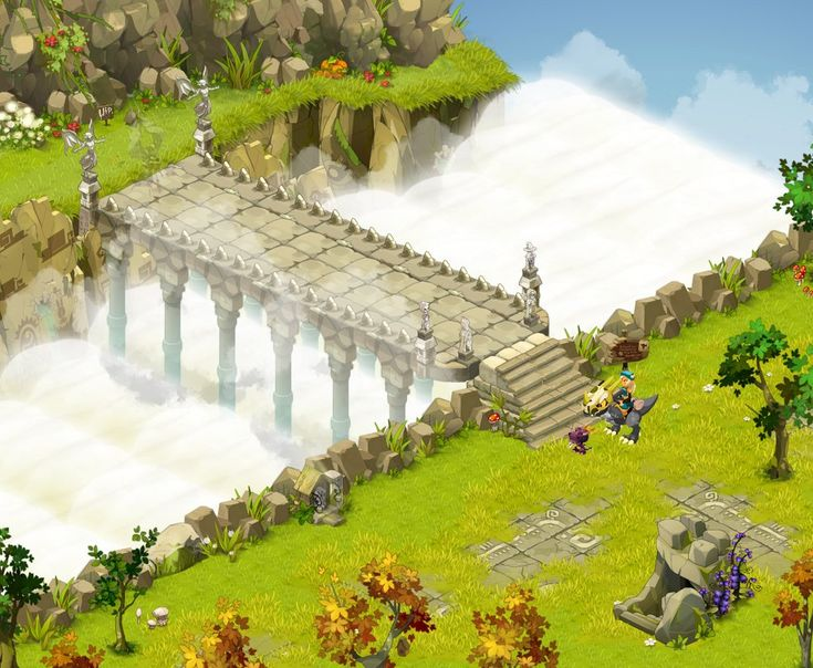 Dofus - Bridge to the Arena by Weequays on DeviantArt