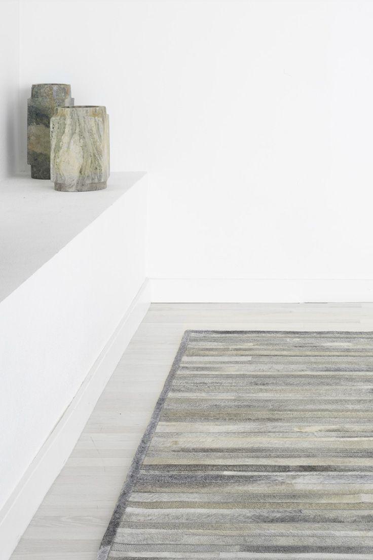 best interior ideations images on pinterest  calvin klein  - prairie  arctic rug in silver