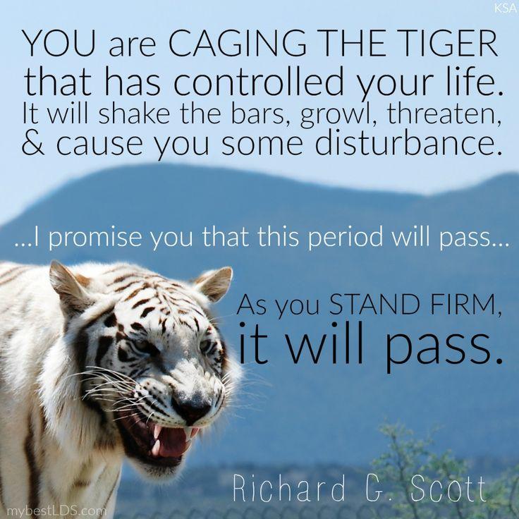 Wise words on making change from Elder Richard G. Scott. #lds #quotes #sharegoodness