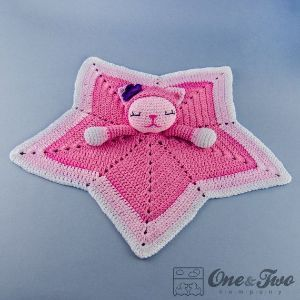 MAY PURCHASE PATTERN ~   Kitty Lovey / Security Blanket PDF Crochet by oneandtwocompany by carlani
