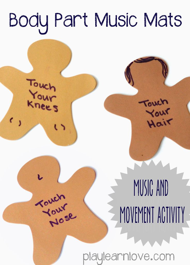 Body Part Music and Movement Activity | play learn love