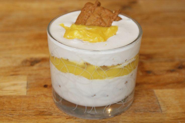 LE dessert de cet automne : la Verrine très gourmande aux spéculoos, mascarpone au miel et lime curd - Cuisine maison © par Fanny GRW - Recettes d'ici et d'ailleurs