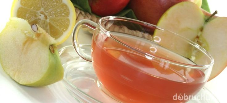 Domáci jablkový čaj(ze slupek)