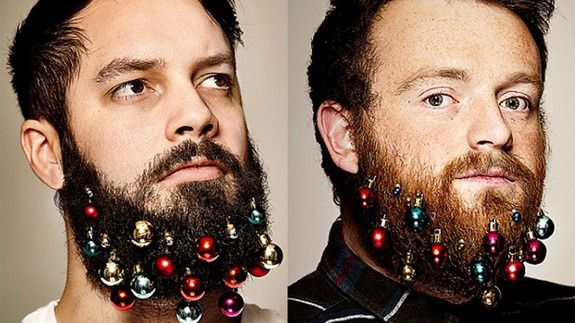 Beard Baubles are the most hipster gift this holiday season