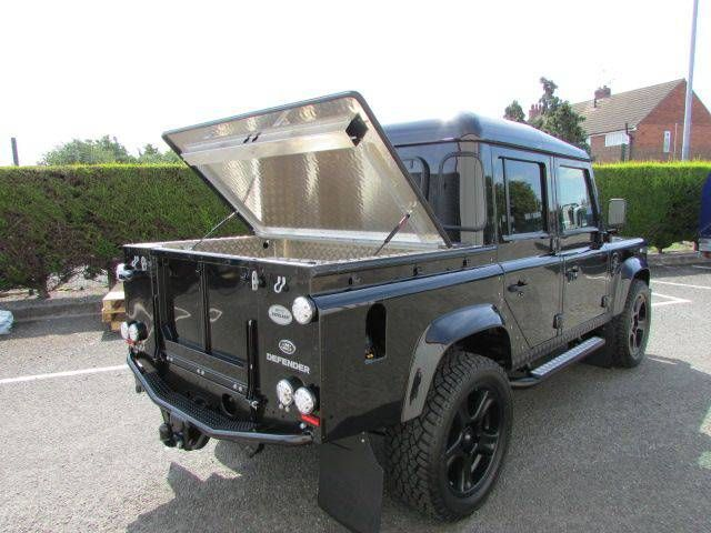Land Rover Defender XS Double Cab PickUp 2.2 TDCi Over Land Trek Edition Pick-up Diesel Black