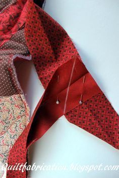Looks so much easier than the way I've been doing it. Will have to try: Quilt Fabrication: Connecting Binding Ends--The Easy Way!