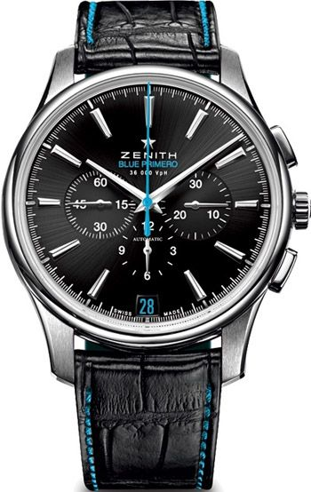 Zenith Captain Chronograph Mens Wristwatch Model: 03.2119.400-22.C720