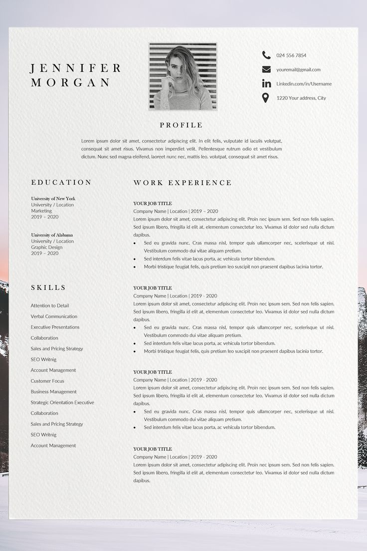 great resume templates attractive resume templates