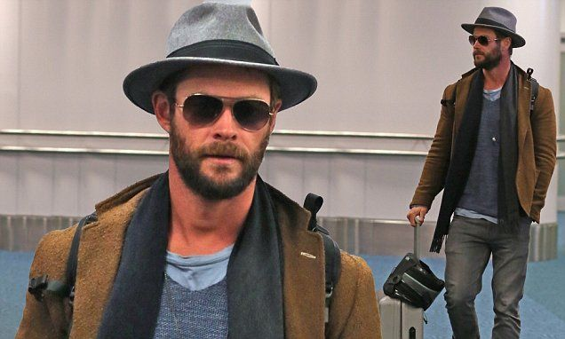 Chris Hemsworth returns to work on a new movie in Canada